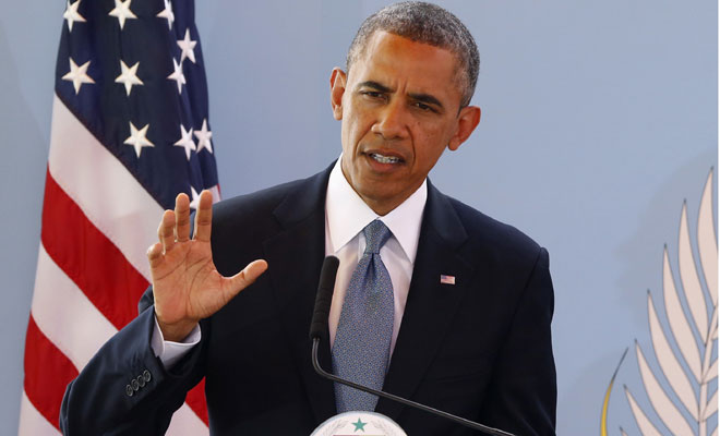 Обама выступил сэкстренным обращением кнации