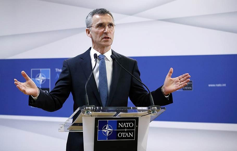 Столтенберг: НАТО неменяет политику вотношении Российской Федерации