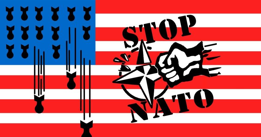 ВТаллине прошел «Марш мира» против присутствия НАТО в государствах Европы
