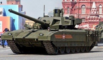 Британская агентура назвала танк Т-14 «Армата» революцией втанкостроении