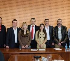 Приднестровцы Украины отмечают день Конституции страны