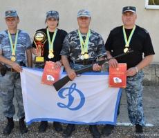 В Тирасполе состоялся Чемпионат МВД по стрелковому двоеборью