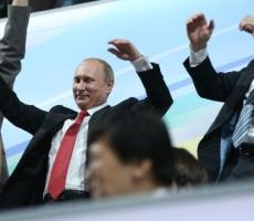 Владимир Путин на торжественном открытии Универсиады в Казани