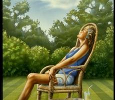 Солнечные лучи полезны для человека, но загорать следует утром и вечером