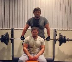 Рамзан Кадыров практикует ночные тренировки