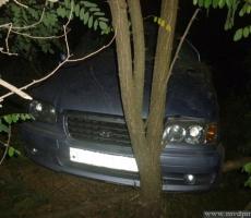 Приднестровский автомобиль опрокинулся в кювет