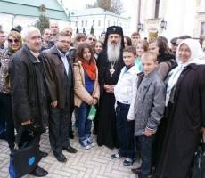 Румынское паломничество в Украину
