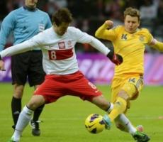 Футбол: сборная Украины одержала победу над Польшей
