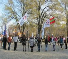 День народного единства в Тирасполе был малолюдным