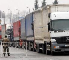 Пункты пропуска на российско-украинской границе забиты фурами