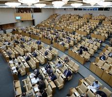 В Госдуме России предотвратили обрушение гостевого балкона