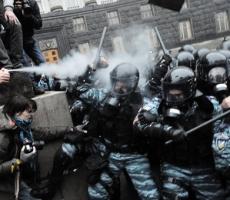 Минувшей ночью в Киеве пострадало более 30 иностранных журналистов