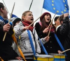 В Москве появились сторонники киевского Евромайдана