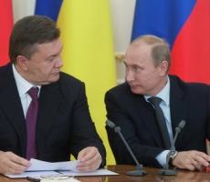 Завтра Путин и Янукович встретятся в Москве