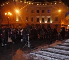 """Болельщики """"Черноморца"""" едут на поддержку Евромайдана"""