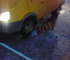 В Тирасполе маршрутное такси сбило сани с ребенком