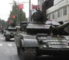 Приднестровские танки готовы выдвинуться на боевые позиции