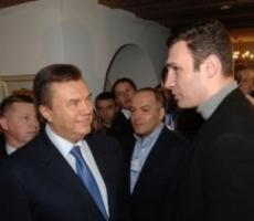Сегодня Виталий Кличко встретился с президентом Укаины