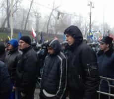 """""""Титушки"""" готовятся к штурму центра Киева"""