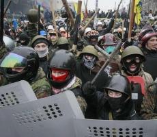 Гражданские столкновения в Киеве - есть первые пострадавшие