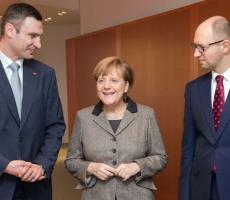Итоги встречи Ангелы Меркель и Яценюка