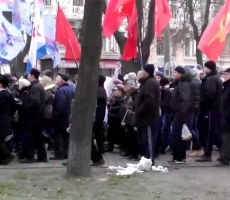 В Одессе митингуют противники Майдана