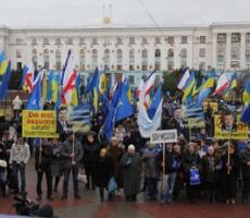 Первые стычки гражданского населения в Крыму