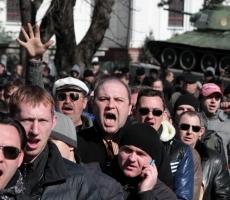 В результате митинга в Крыму погибло двое славян