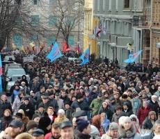 Одесситы восстают против власти в Киеве