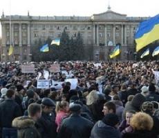 В Николаеве прошел массовый митинг за единство Украины