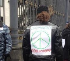 В Москве правоохранители разогнали антивоенный митинг