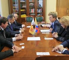 Руководство Верховной Рады Крыма прибыло в Госдуму РФ