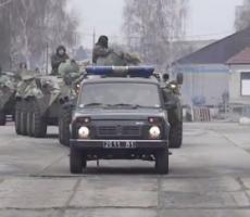 Передвижение войск в Украине становится все более масштабным