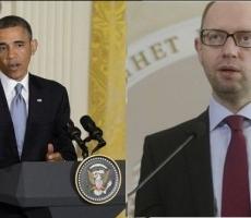 Обама и Яценюк встретились в Белом Доме