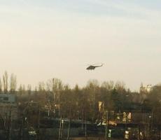 Вертолеты прикрыли Одессу с воздуха
