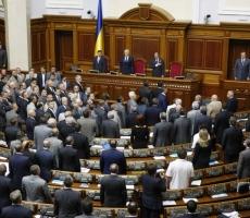 Парламент Украины принял закон о мобилизации