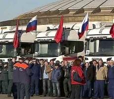 Крым принял от России гуманитарную помощь