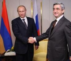 Серж Саргасян поддержал Владимира Путина в Крымском вопросе