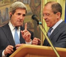 Глава МИДа РФ Сергей Лавров обсудил украинский вопрос с Джном Керри