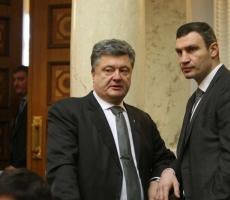 Виталий Кличко может поддержать Порошенко на выборах
