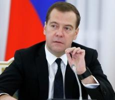 Премьер-министр России Дмитрий Медведев посетил Крым