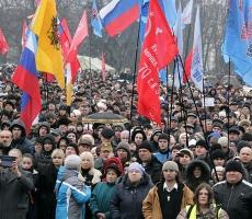 В Одессе на Куликовом Поле проходит пророссийский митинг