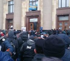 В Харькове скандировали: ментов не трогать!