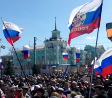 В Луганске готовятся к провозглашению Луганской народной республики
