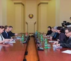 Руководство Приднестровья приняло делегацию ООН во главе с заместителем Верховного Комиссара