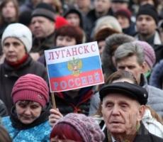 """Лидеры """"народного ополчения"""" Луганска подготовили требования к ОГА"""