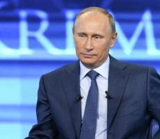 """Владимир Путин: """"Никаких российских спецслужб на востоке Украины нет. Это чушь!"""""""