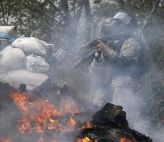 Славянск перешел на военное положение (ФОТО)