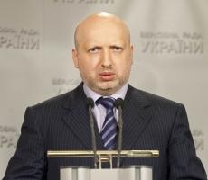 Турчинов: мы не отступим перед террористической угрозой