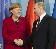 Ангела Меркель попросила Путина помочь освободить европейских наблюдателей в Украине